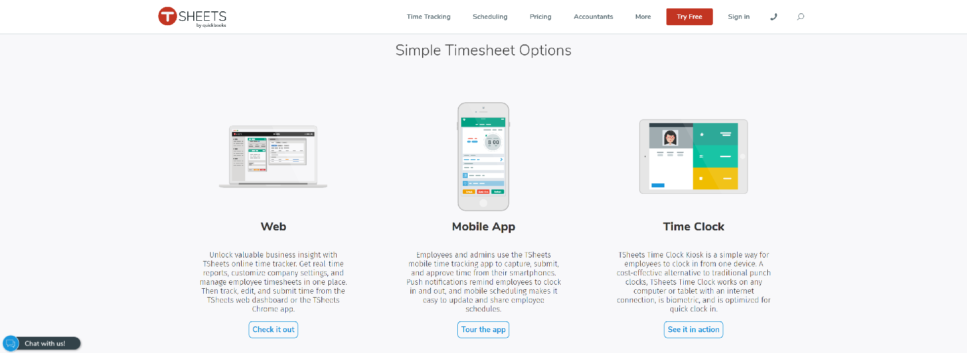 Tsheets App