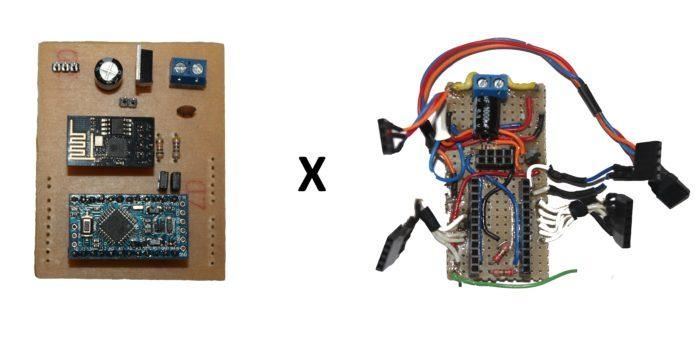 Create printed circuit board in home with MAD PCB guide