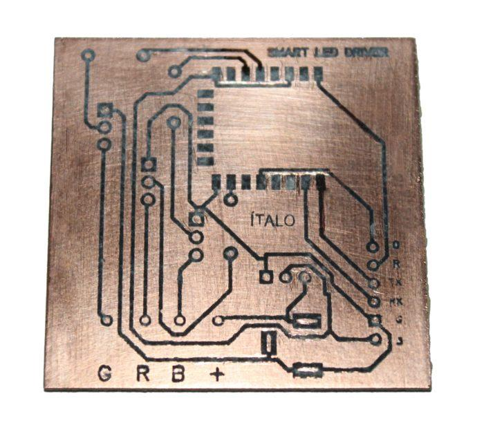Easy steps to create printed circuit board in home