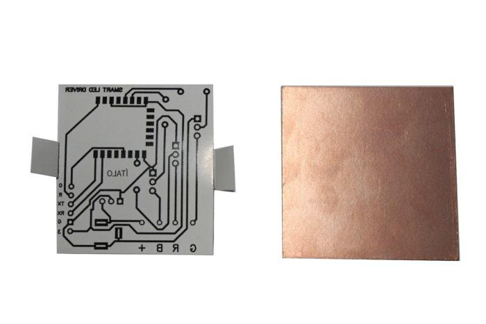 A step by step guide to create printed circuit board in home